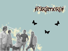 Paramore Background by sergeantfrog
