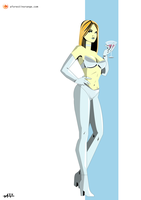 Emma Frost (X-Men) by FeydRautha81