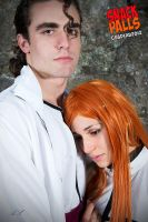 Bleach - Aizen and Orihime 4 by LadyGrell93