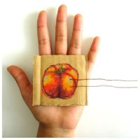 hand and capsicum by iforgotmypassword