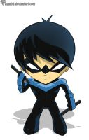 Nightwing chibi by shamserg