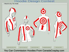 Arrows and Targets Hoodie by Katy133