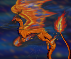 wings of fire by slowdragon25