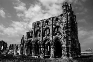 Whitby abbey by The-Travellers-Tale