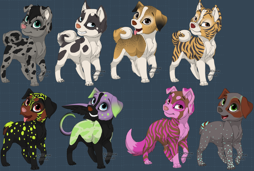 Puppies (CLOSED) by Heimdall-PLZ