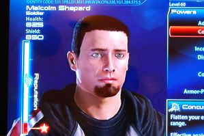 My custom Commander Shepard by Marvelguru