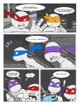 TMNT fan comic: Walks like an Angel part 2 by ActionKiddy