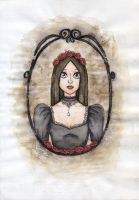 Gothic Lady by Ninelyn