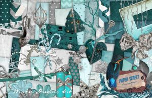 winter dreams  kit - paper street designs by paperstreetdesigns