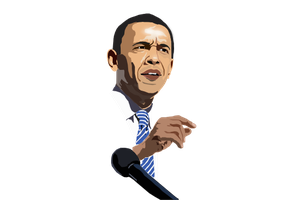 OBAMA VECTOR by fireproofgfx