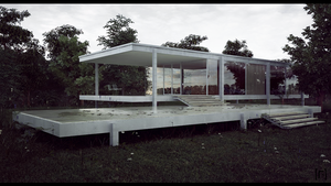 Farnsworth House Final 1 by the-f-render