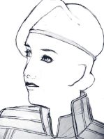 Service Chief Victore Sketch by mandygugs