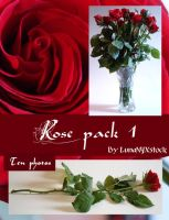 Rose pack - 1 by LunaNYXstock