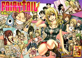 Fairy tail cover 278 cleaning written by Ulquiorra90