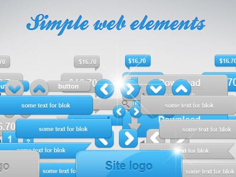 simple web elements by N0RTHWOOD