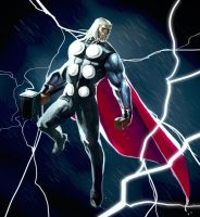mighty Thor by MaxGrecke