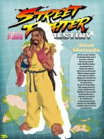 Street Fighter Destiny: Sean by JuLeonidas