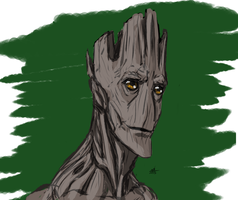 Day of the Moose 2015 8 He is Groot by ConstantM0tion