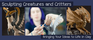 Online Class : Sculpting Creatures and Critters by emilySculpts
