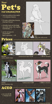 Pet Commissions - OPEN by Chaluny