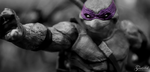 Donnie Squad BW by Gaunted