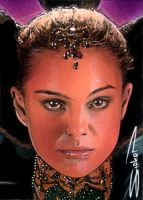 Padme Sketch Card 4 by RandySiplon