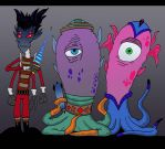 Aliens Created by Cartoonstudy by Lordwormm