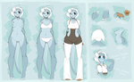 Nora Ref Sheet by MagicalZombie