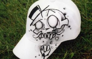 the cultured skull hat by Shaun-Kyle