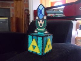 LoZ Themed Perler Bank by Werbenjagermanjensen