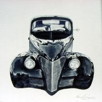 1939 chevy hotrod by Z-Vincent