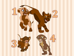 Lion Cub Adoptables [CLOSED] by makeradopts