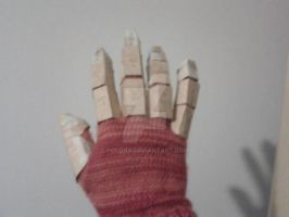 Cardboard Iron Man Fingers by Polonx