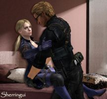 Jill x Wesker 4 by Sherringui