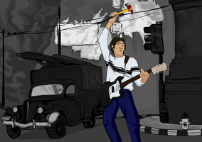 Pete Townshend by kdanielss