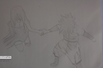 Give me your hand (Gray and Juvia)- Fairy Tail by carolinamgfidalgo