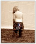 Patriotic in Pampers by deathbycanon