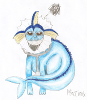 Haggai the Vaporeon by Pfaccioxx