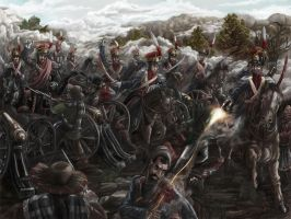 Battle of Somosierra by propagangjah
