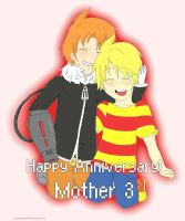 Happy 8th Anniversary, Mother 3! by Shimasteam2112