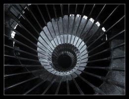 Spiralling Staircase by dontlet-medown