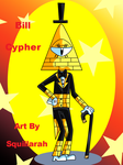 Gravity Falls - Anthro Bill Cipher by Squillarah