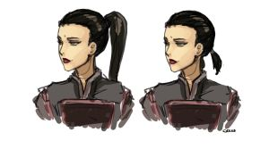 Asami haircuts by DarrenGeers
