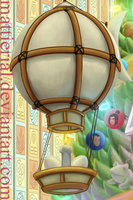 Avatar Advent Calendar: Day 9: Mechanist's Balloon by Mattierial