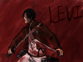 Levi Ackerman by random-ftw