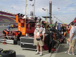 TONY ON PIT ROAD by Fordartist