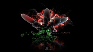 Abstract Flower by DeeJayCRO
