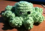 Amigurumi Cthulhu the octopus by sq9kll
