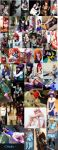 COSPLAYS COLLAGE by Candustark
