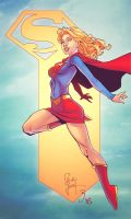 Supergirl by Eddy-Swan-Colors